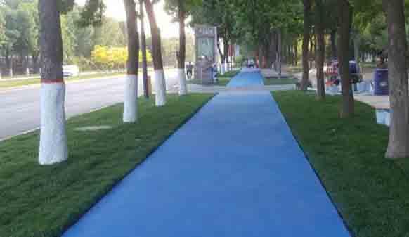 彩色路面为何如此受欢迎,到底具备哪些作用呢?