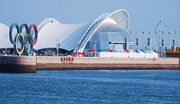 美邦沥路力彩色防滑路面,进驻亚洲最好奥运场馆-青岛奥帆中心